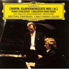クリスティアン・ツィマーマン - ショパン:ピアノ協奏曲第1&2番