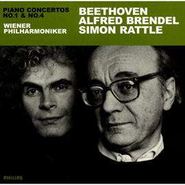 アルフレッド・ブレンデル - ベートーヴェン:ピアノ協奏曲第1・4番