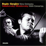 チャイコフスキー、ミヤスコフスキー:ヴァイオリン協奏曲