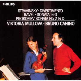ヴィクトリア・ムローヴァ - ストラヴィンスキー:ディヴェルティメント、ラヴェル:ヴァイオリン・ソナタ、他