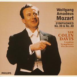 サー・コリン・デイヴィス - モーツァルト:交響曲第39、40番