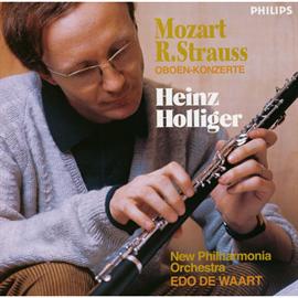 ハインツ・ホリガー - モーツァルト&R.シュトラウス:オーボエ協奏曲 ホリガー
