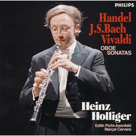 ハインツ・ホリガー - ヘンデル、J.S.バッハ、ヴィヴァルディ:オーボエ、ソナタ集 ホリガー