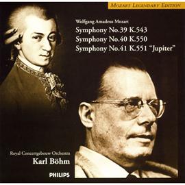 カール・ベーム - モーツァルト:交響曲第39~41番
