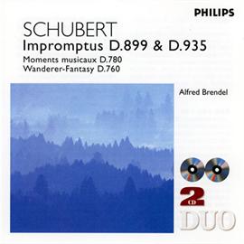 アルフレッド・ブレンデル - シューベルト:即興曲集、楽興の時