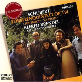 アルフレッド・ブレンデル - シューベルト:ピアノ五重奏曲《ます》