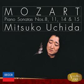 """内田光子 - """"モーツァルト:ピアノ・ソナタ第8,11,14,15番"""
