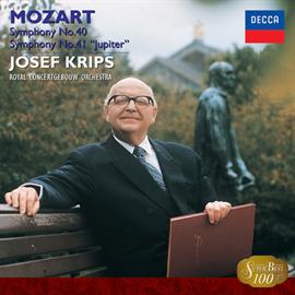 ヨーゼフ・クリップス - モーツァルト:交響曲第40番&41番