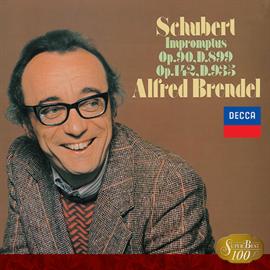 アルフレッド・ブレンデル - シューベルト:即興曲全曲