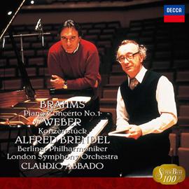 アルフレッド・ブレンデル - ブラームス:ピアノ協奏曲第1番/ウェーバー:コンチェルトシュトゥック