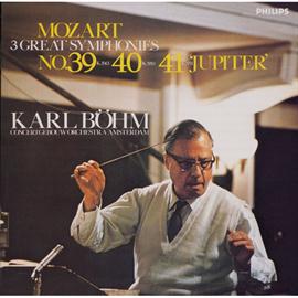 カール・ベーム - モーツァルト:交響曲第39、40、41番