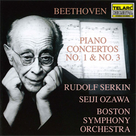 小澤征爾 - ベートーヴェン:ピアノ協奏曲第1番・第3番