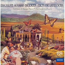 アリシア・デ・ラローチャ - スペイン名曲集