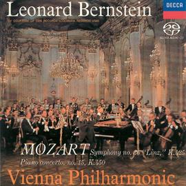 レナード・バーンスタイン - モーツァルト:ピアノ協奏曲第15番、交響曲第36番《リンツ》
