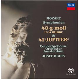 ヨーゼフ・クリップス - モーツァルト:交響曲第40番、第41番《ジュピター》