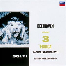 サー・ゲオルグ・ショルティ - ベートーヴェン:交響曲第3番《英雄》他 [SA-CD SHM仕様]