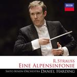 ダニエル・ハーディング - R.シュトラウス:アルプス交響曲[SA-CD~SHM~]