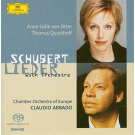 クラウディオ・アバド - シューベルト:管弦楽伴奏による歌曲集