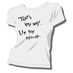 Mirror/Tシャツ/白/レディース/S
