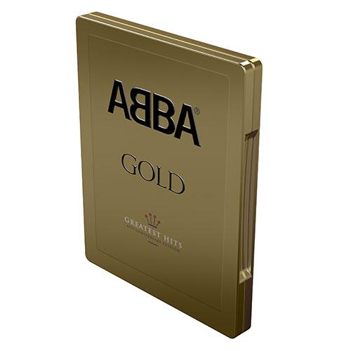 Resultado de imagen de abba gold 40 metal box