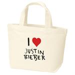 ジャスティン・ビーバー - Justin Bieber I Love JB Mini Tote