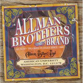オールマン・ブラザーズ・バンド - アメリカン・ユニヴァーシティ 1970