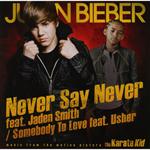 ジャスティン・ビーバー - ネヴァー・セイ・ネヴァー[国内盤] Never Say Never feat. Jaden Smith