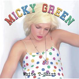 ミッキー・グリーン - ホワイトTシャツ