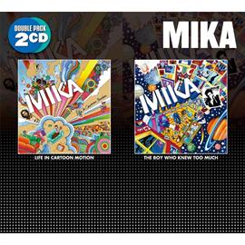 MIKA - ライフ・イン・カートゥーン・モーション/ザ・ボーイ・フー・ニュー・トゥー・マッチ