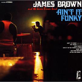 ジェームス・ブラウン - エイント・イット・ファンキー