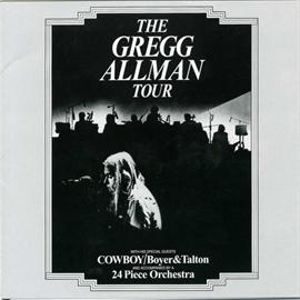 グレッグ・オールマン - グレッグ・オールマン・ツアー