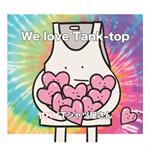 ヤバイTシャツ屋さん - We love Tank-top