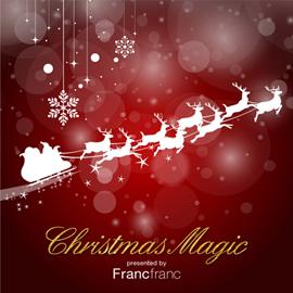 V.A. - CHRISTMAS MAGIC PRESENTED BY FRANCFRANC