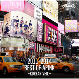 Apink - 2011-2014 Best of Apink  ~KoreanVer.~